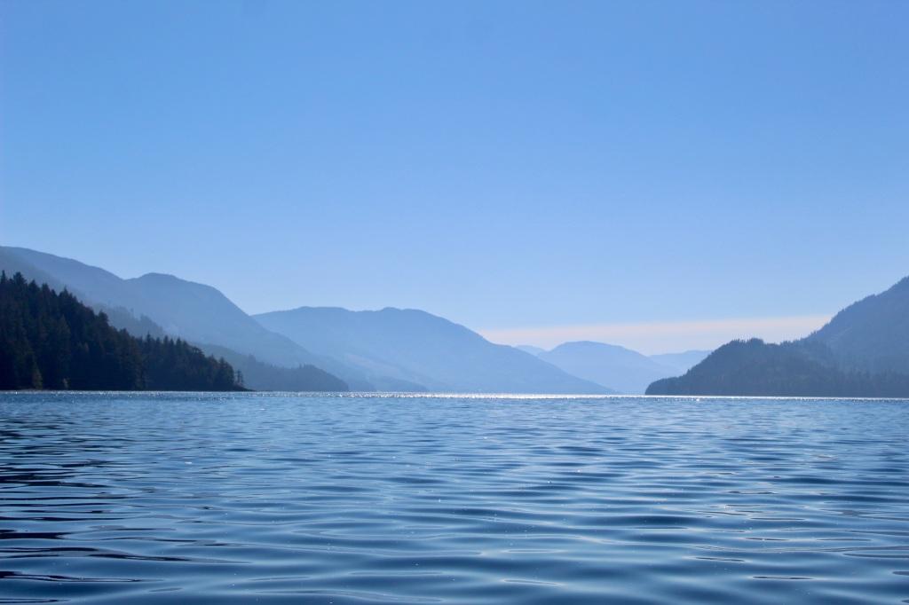 September, 2020 - Quatsino Sound, Vancouver Island, British Columbia - Mountains