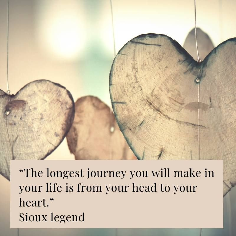 Journey from your Head to your Heart