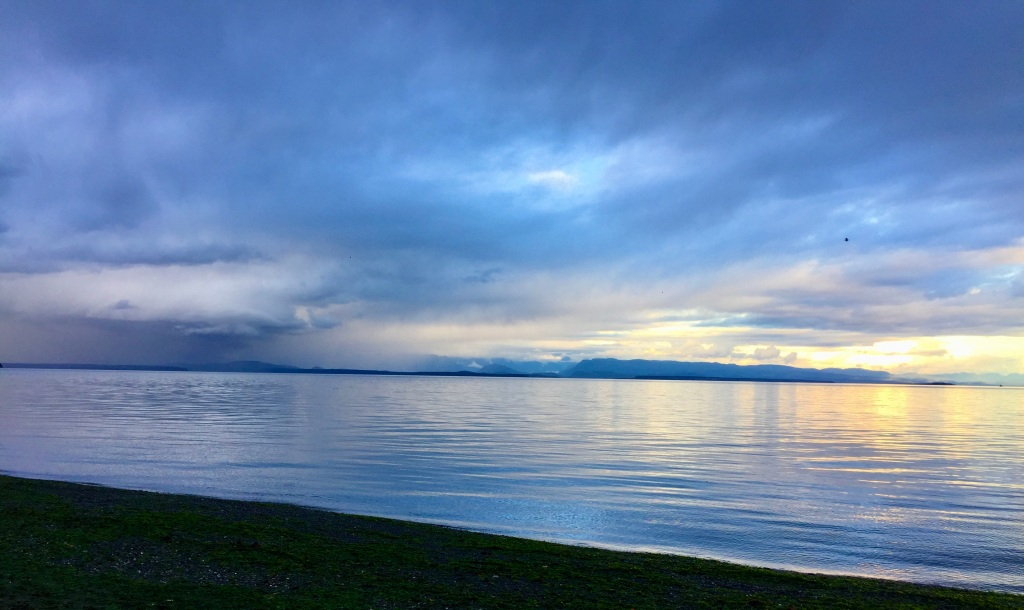 October 10th, 2020 - Campbell River, Vancouver Island, British Columbia - Rain storm and Sunshine