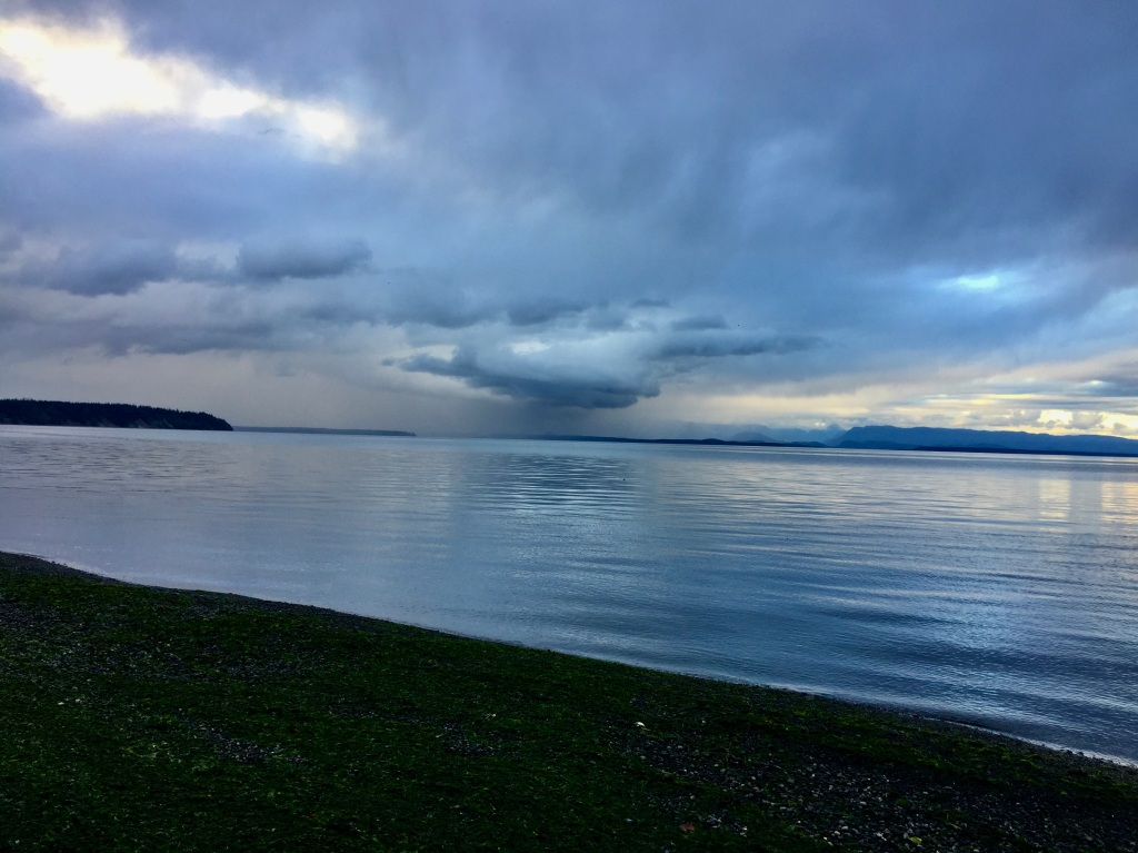 October 10th, 2020 - Campbell River, Vancouver Island, British Columbia - Rain storm