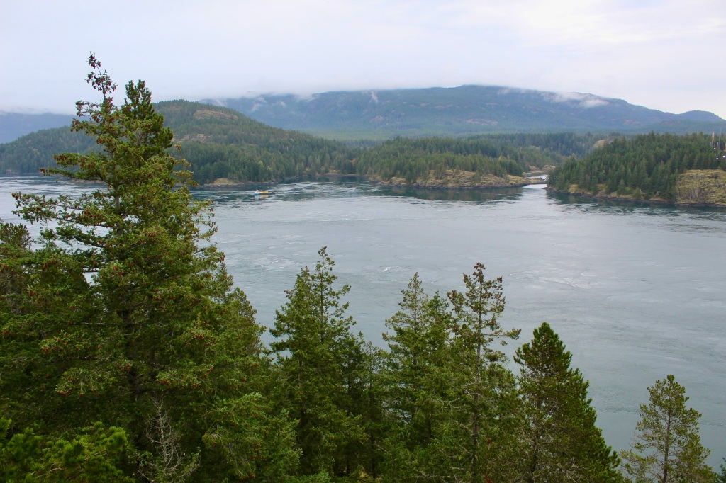 Vancouver Island, British Columbia - Ripple Rock - View of Seymour Narrows