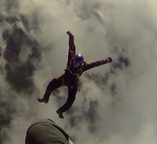 October 20th, Campbell River, Vancouver Island, British Columbia - Michael - Skydiving