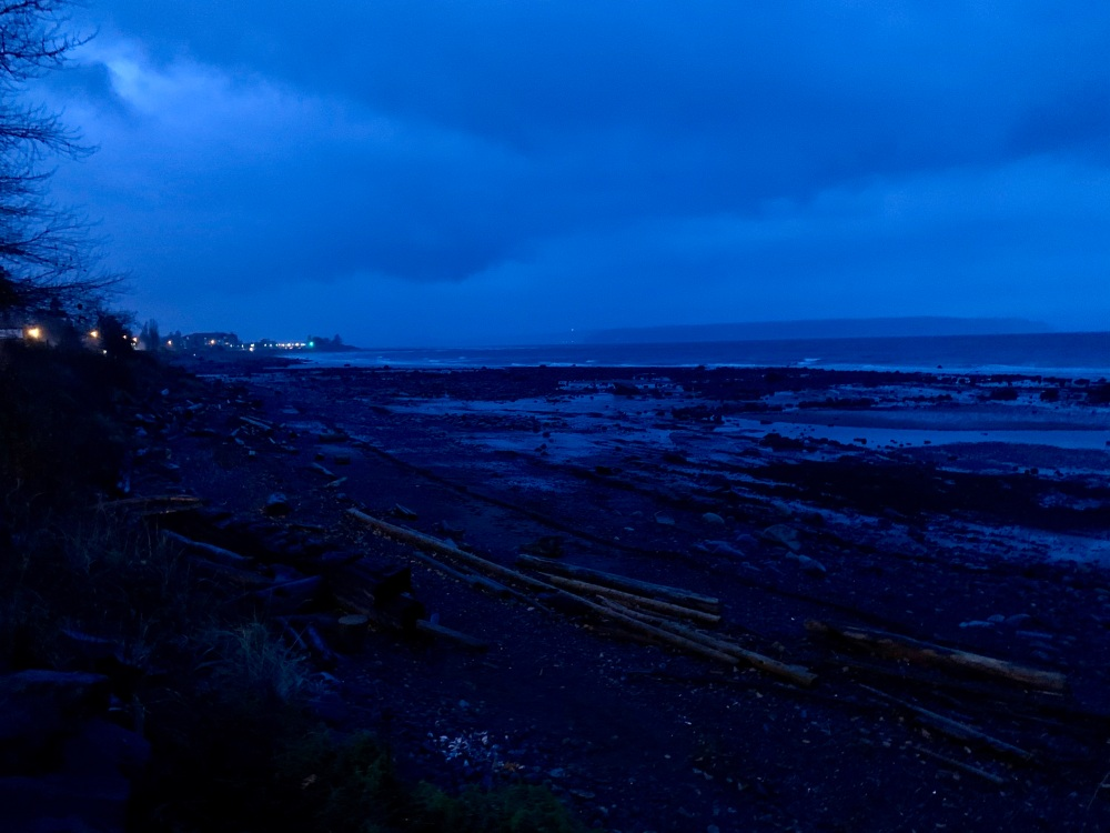 Campbell River, Vancouver Island, British Columbia - Early morning run in a rainstorm - SeaWalk