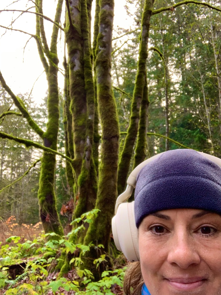 November 14th - Campbell River, Vancouver Island, British Columbia - Me and my special tree!!!