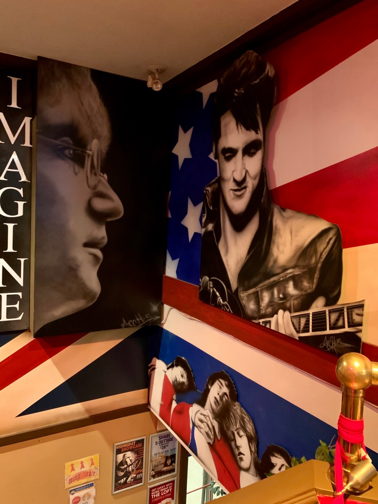 November 14th, 2020 - Victoria, Vancouver Island, British Columbia - The Loft Pub Victoria - John Lennon, Elvis and The Who