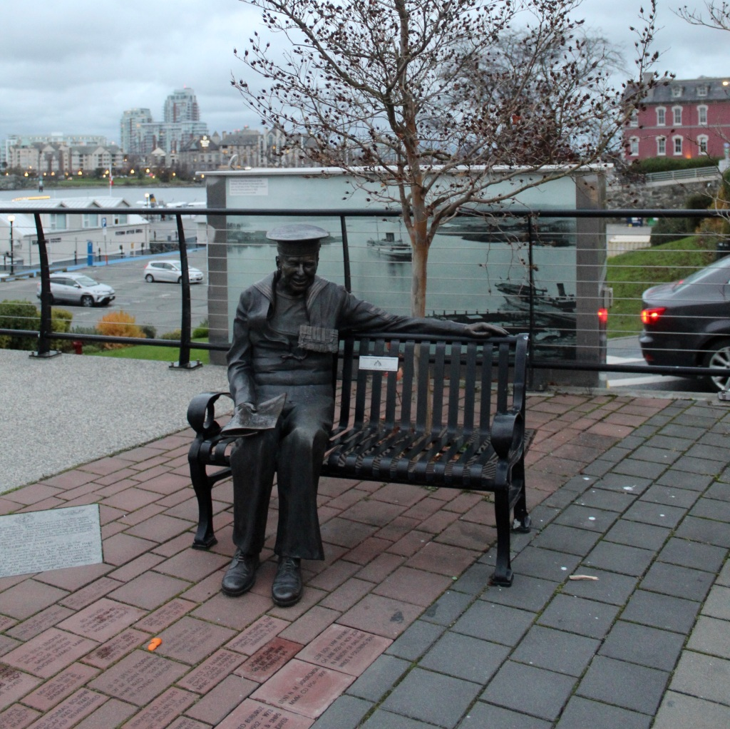November 14th, 2020 - Victoria, Vancouver Island, British Columbia - Waterfront - Veteran Memorial