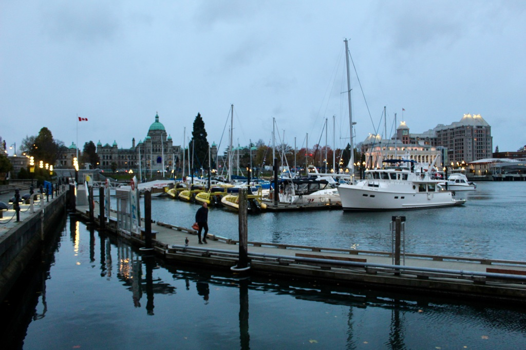 November 14th, 2020 - Victoria, Vancouver Island, British Columbia - Waterfront - Marina