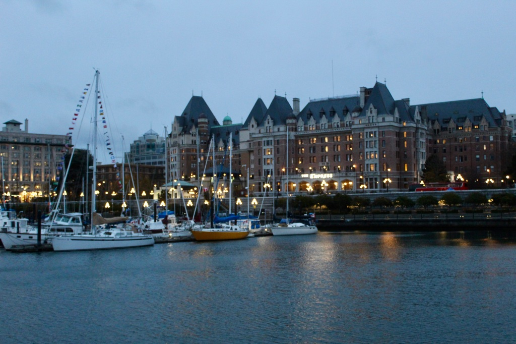 November 14th, 2020 - Victoria, Vancouver Island, British Columbia - Waterfront - Fairmont Empress Hotel