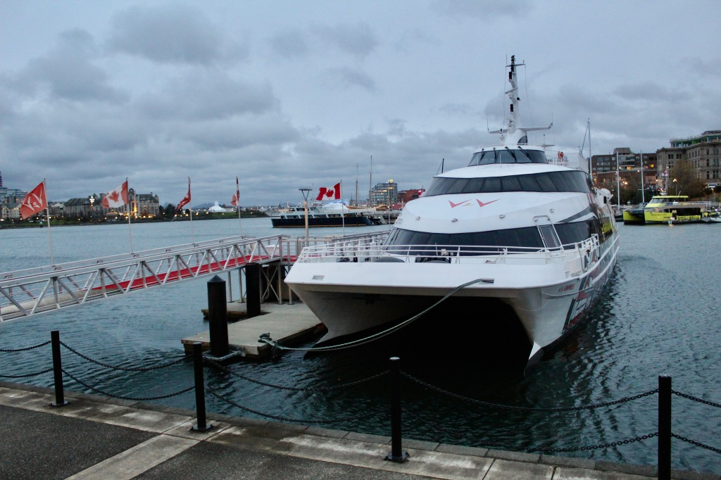 November 14th, 2020 - Victoria, Vancouver Island, British Columbia - Waterfront - V2V Ferries - Empress Victoria to Vancouver Ferry
