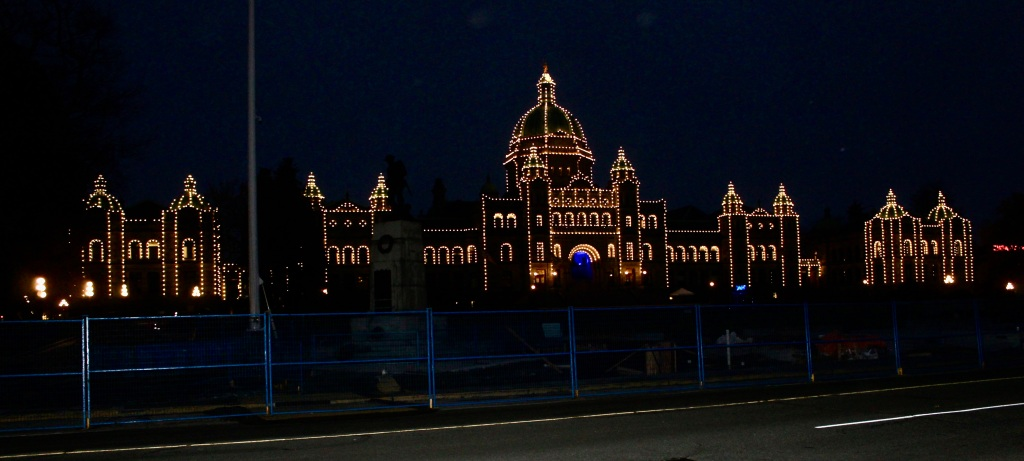 November 14th, 2020 - Victoria, Vancouver Island, British Columbia - Waterfront - British Columbia's Parliament Building