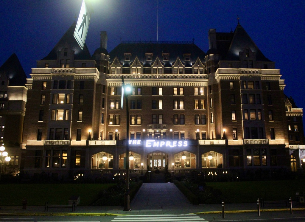 November 14th, 2020 - Victoria, Vancouver Island, British Columbia - Waterfront - The Fairmont Empress Hotel