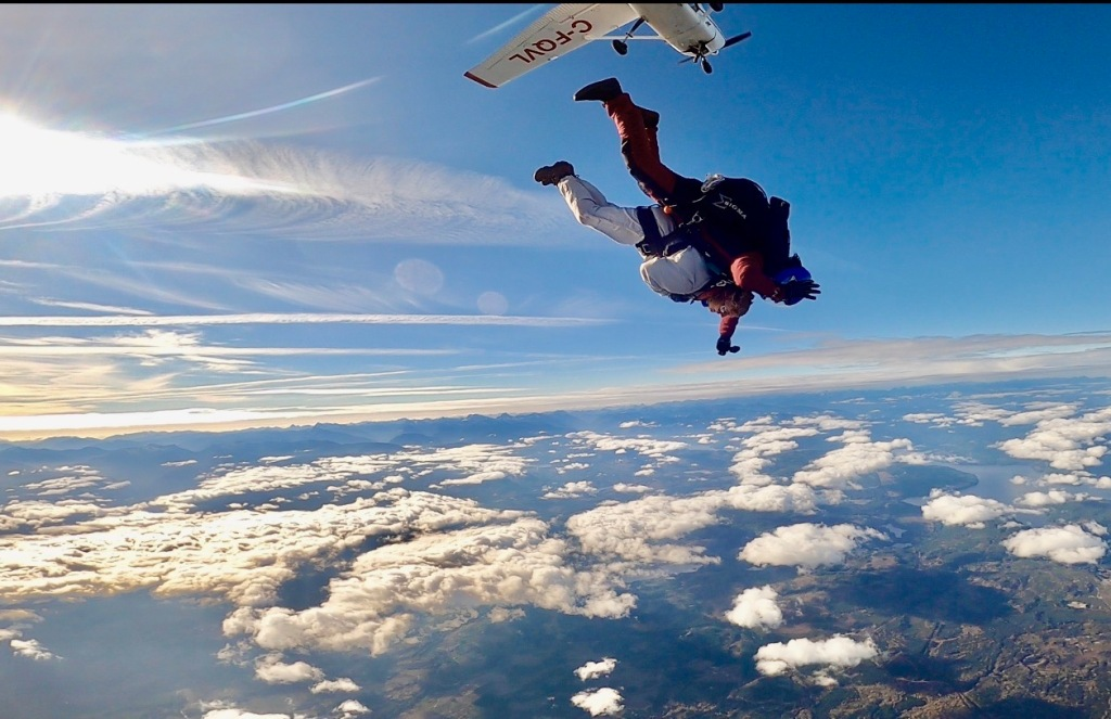 October 31st, 2020- Capital City Skydiving - The scariest moment - head first - free fall