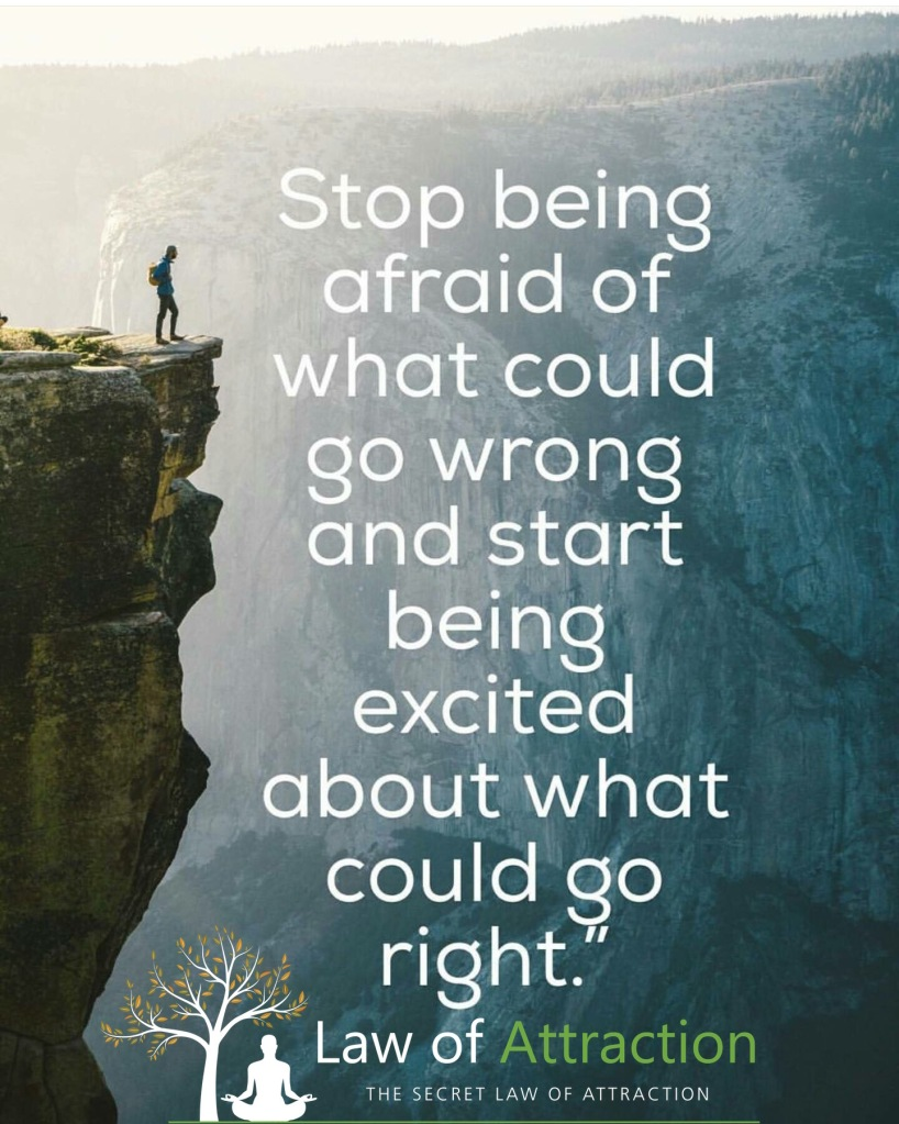 Quote - Stop Being Afraid