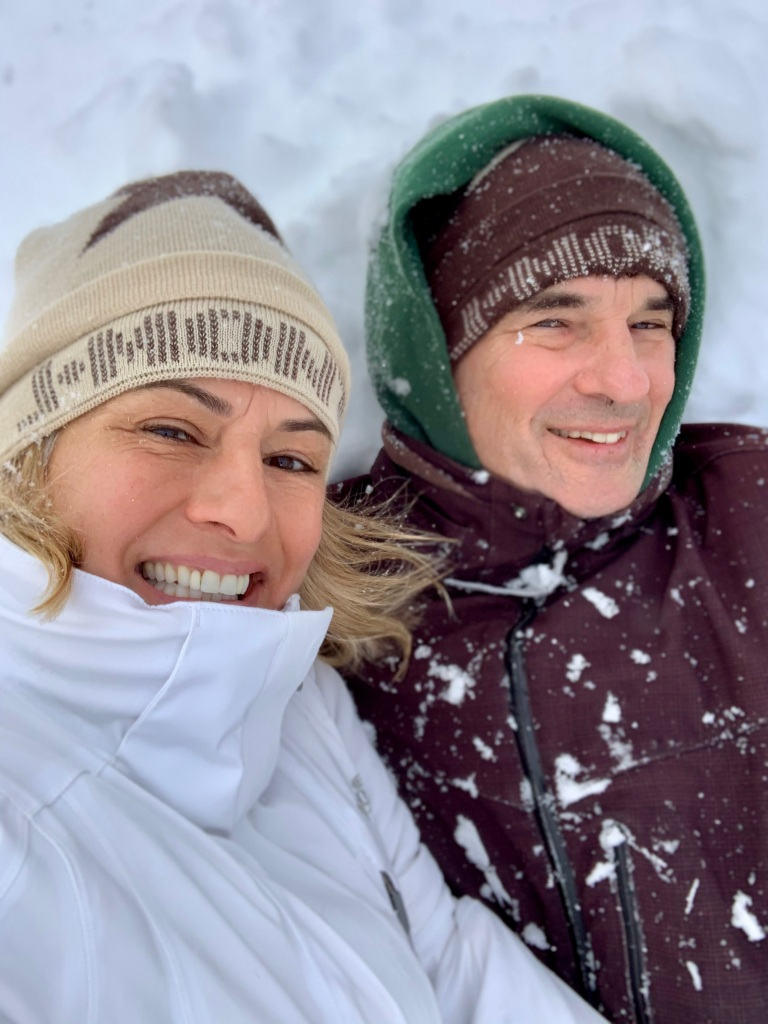 February 8th, 2021 - Snow Day - Falls Lake Resort - Snow Selfie!!!!