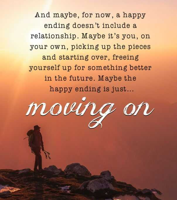 Quote - Moving On