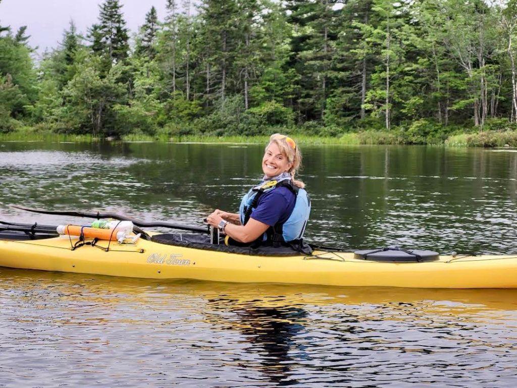 August 13th, 2021 - Morris Lake, Dartmouth, Nova Scotia - CKNS Wednesday Night Paddle - Joyful Stephanie