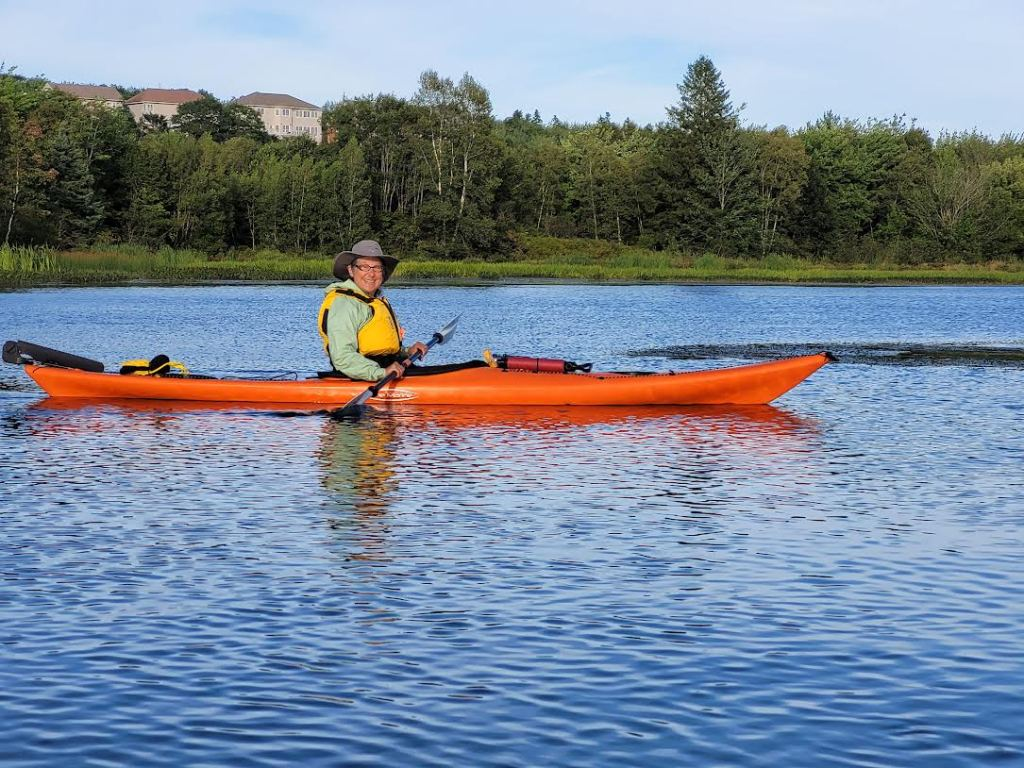 August 28th, 2021 - Morris Lake, Dartmouth - CKNS Ladies Night Paddle