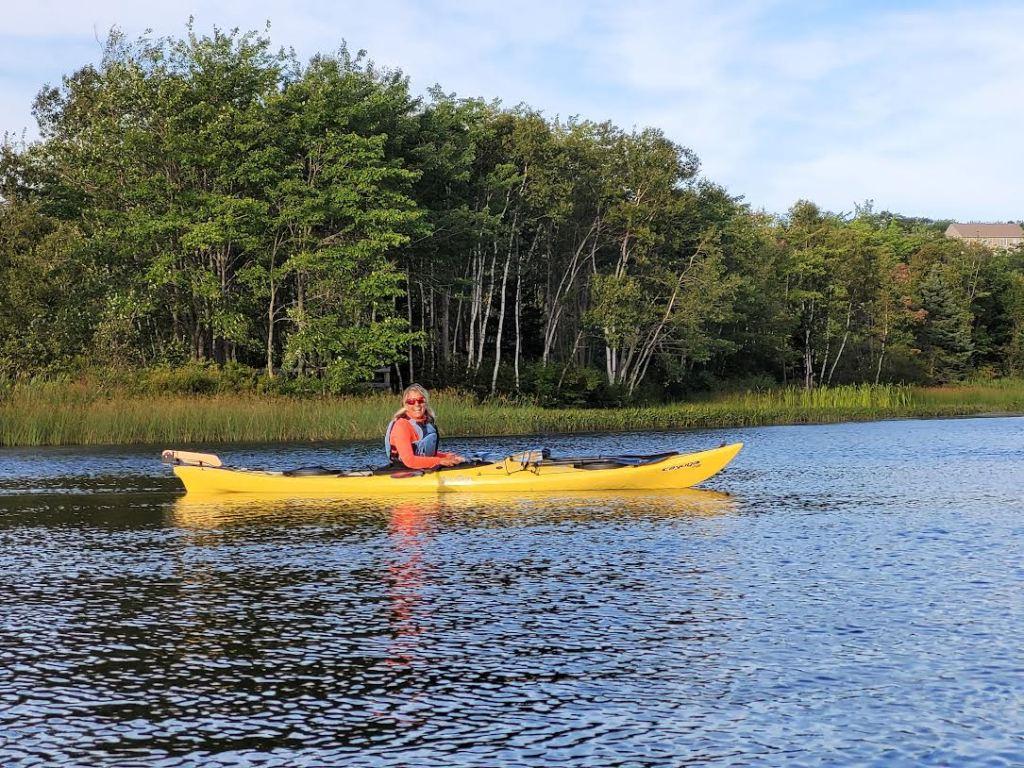 August 28th, 2021 - Morris Lake, Dartmouth - CKNS Ladies Night Paddle - Joyful Stephanie