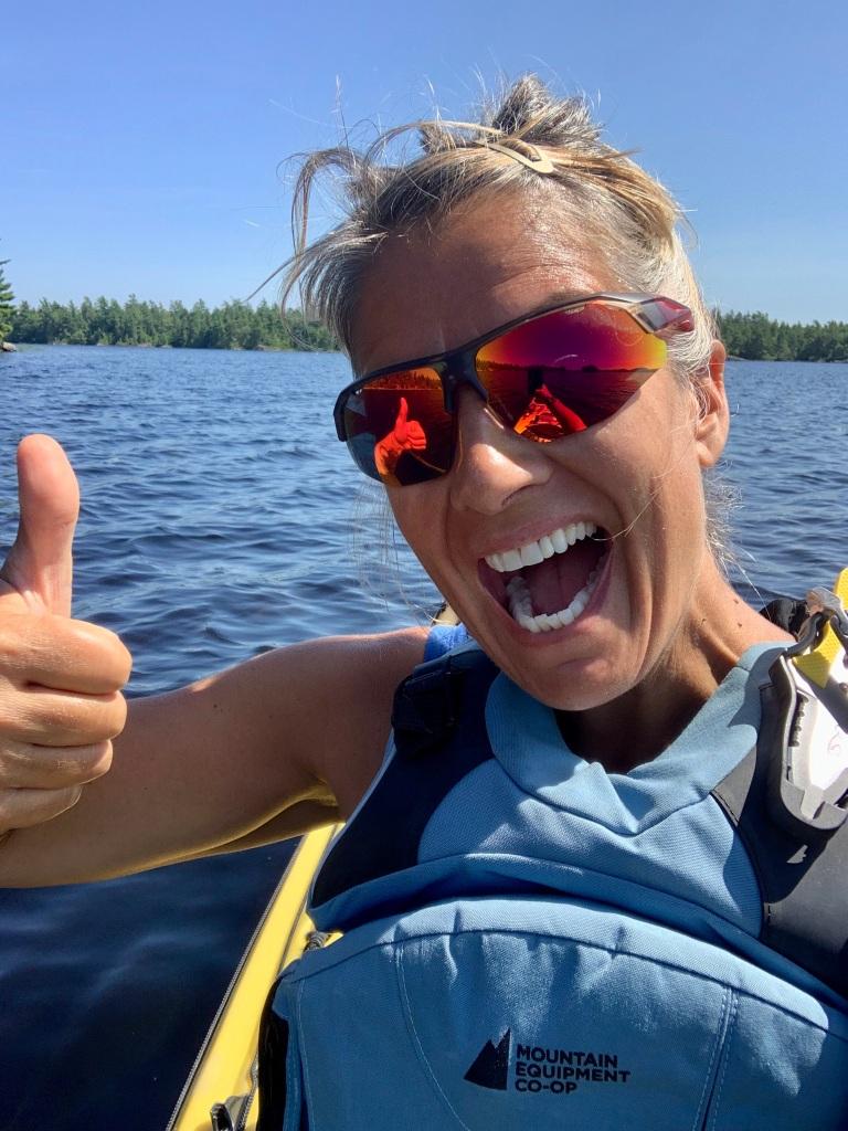 August 16th, 2021 - Long Lake, East Uniacke, Nova Scotia - Loonie kayaker!