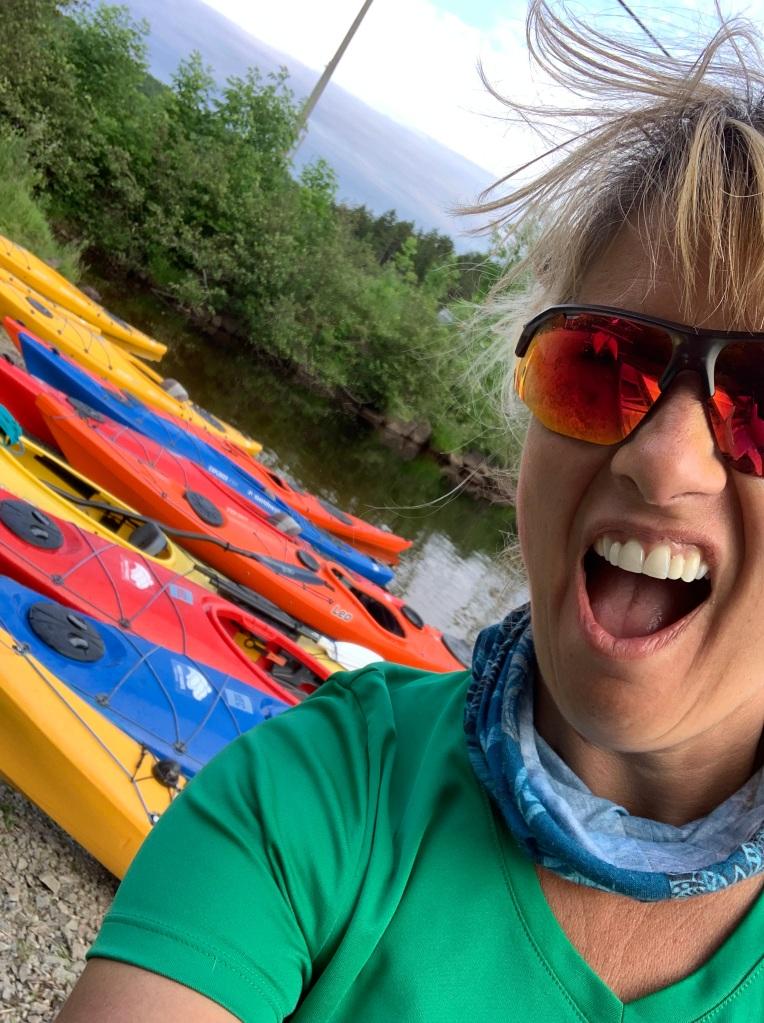 July 8th, 2021 - Falls Lake, Nova Scotia - West Hants Kayaking Day - Half Day Tour - PUMPED!!!!
