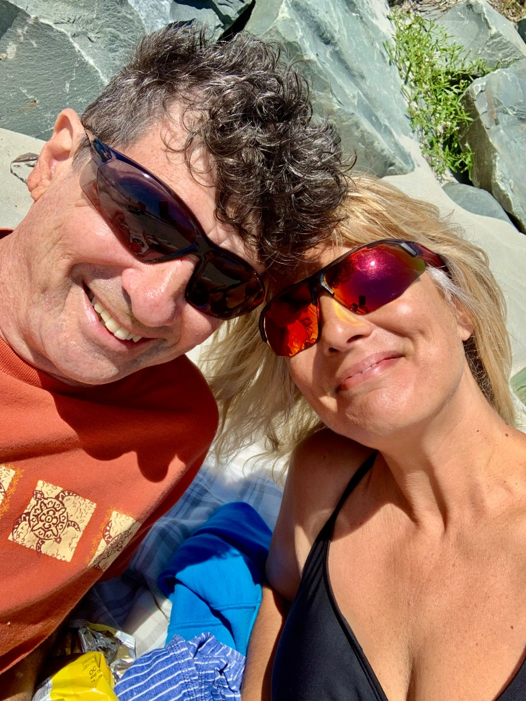 August 1st, 2021 - Crescent Beach, Lockeport, Nova Scotia - Happy lovers!