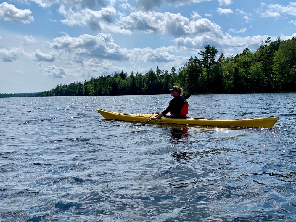 August 4th, 2021 - Long Lake, East Uniacke, Nova Scotia - Paddling with Liz