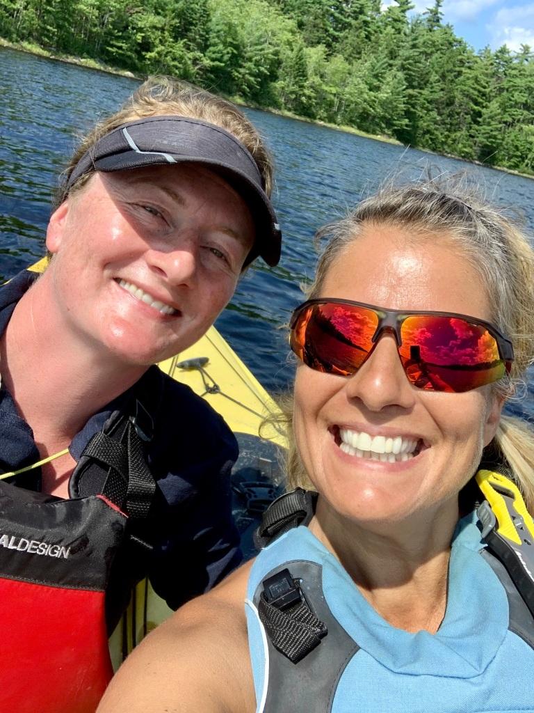 August 4th, 2021 - Long Lake, East Uniacke, Nova Scotia - Happy Kayakers!!