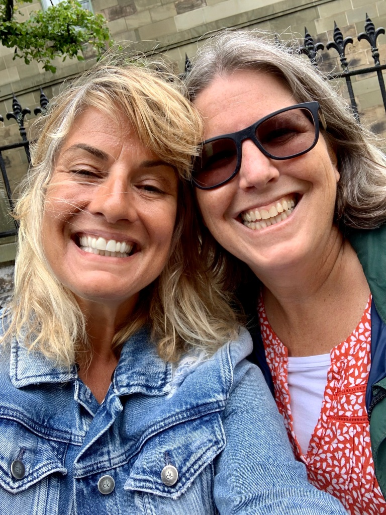 August 6th, 2021 - Halifax, Nova Scotia - Lunch with Sara, who I worked with at the American School of Doha