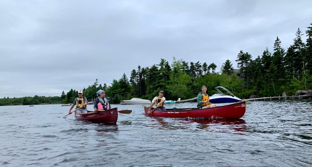 August 13th, 2021 - Morris Lake, Dartmouth, Nova Scotia - CKNS Wednesday Night Paddle - Canoists