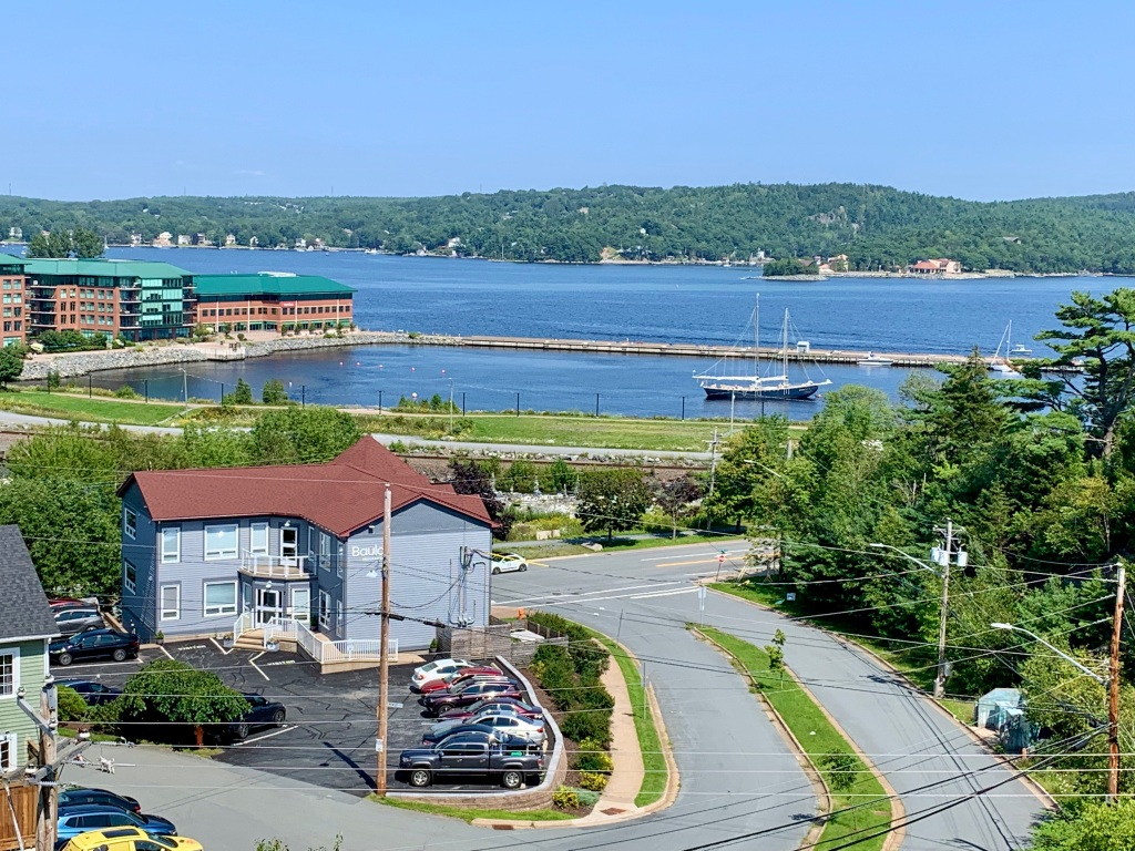 July 14st, 2021 - Bedford, Nova Scotia - View of Bedford Basin from my parents condo