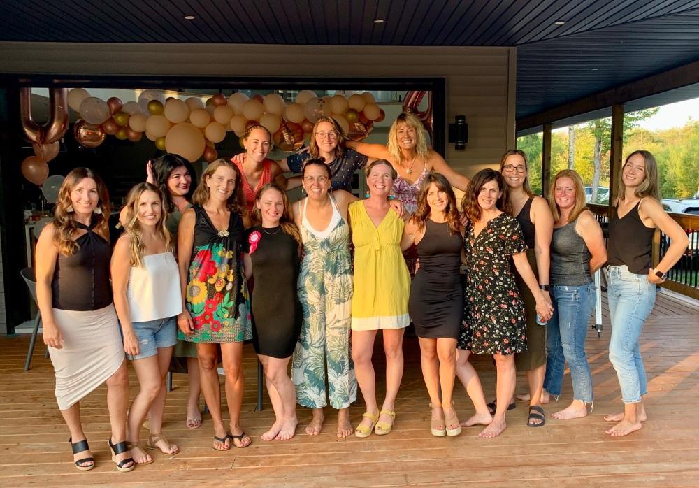 August 14th, 2021 - Waverely, Nova Scotia - Patricia's 40th birthday party! Woohoo!!!