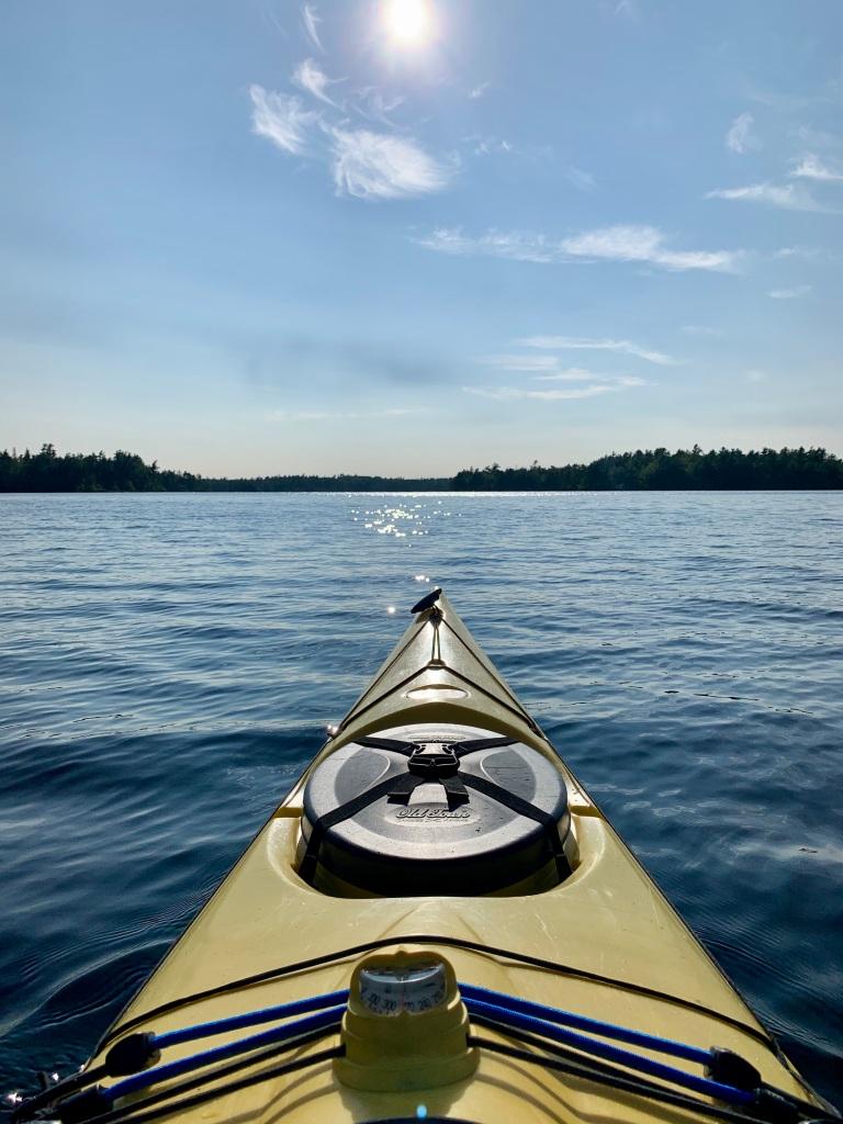 August 16th, 2021 - Long Lake, East Uniacke, Nova Scotia - Start of the setting sun