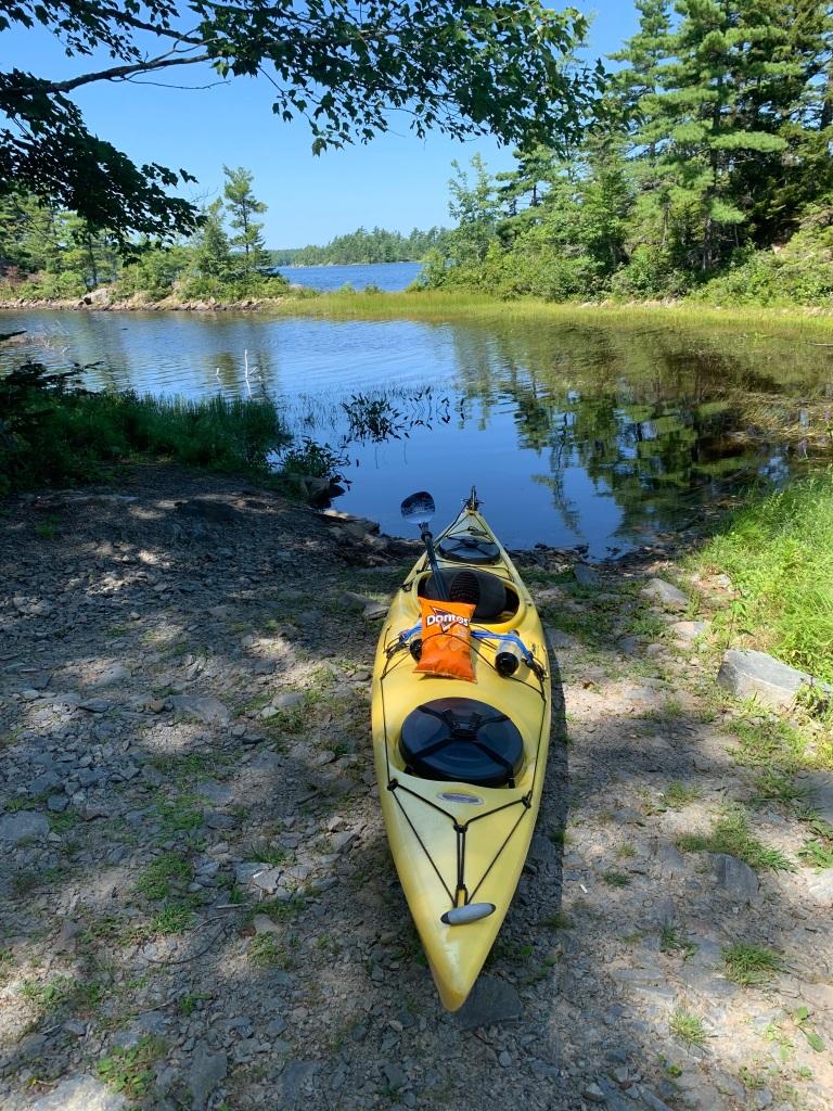 August 16th, 2021 - Long Lake, East Uniacke, Nova Scotia - Public boat launch in Loon Point