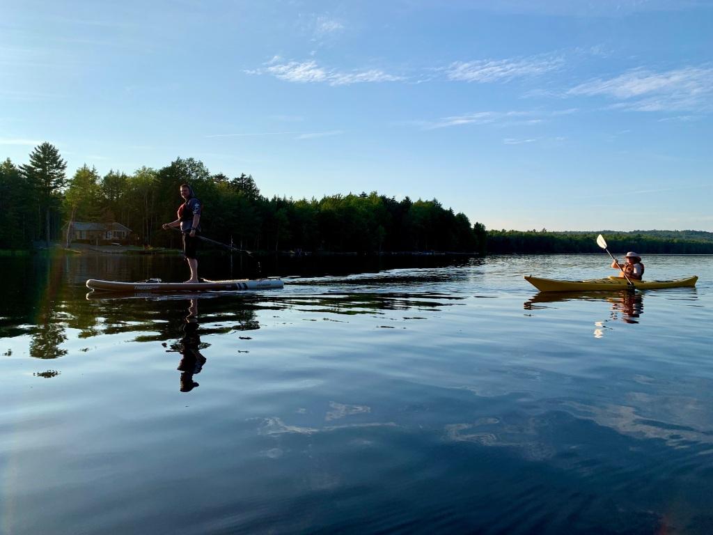 August 25th, 2021 - Falls Lake, Vaughan, Nova Scotia - CKNS Wednesday Night Paddle