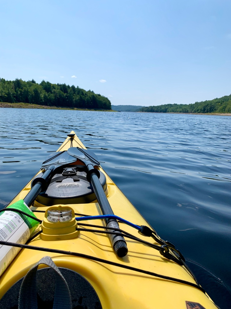 August 26th, 2021 - Panuke Lake - Heading south along the lake