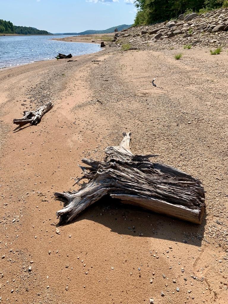 August 26th, 2021 - Panuke Lake - No trace of any human foot prints!