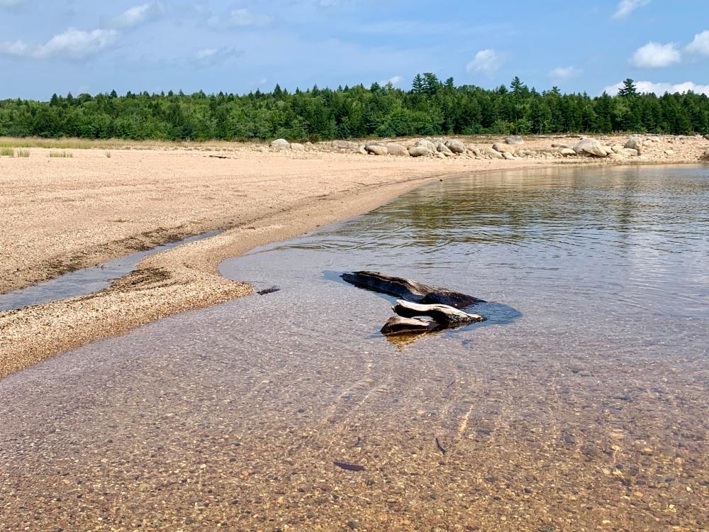 August 27th, 2021 - Card Lake - The beautiful beach!
