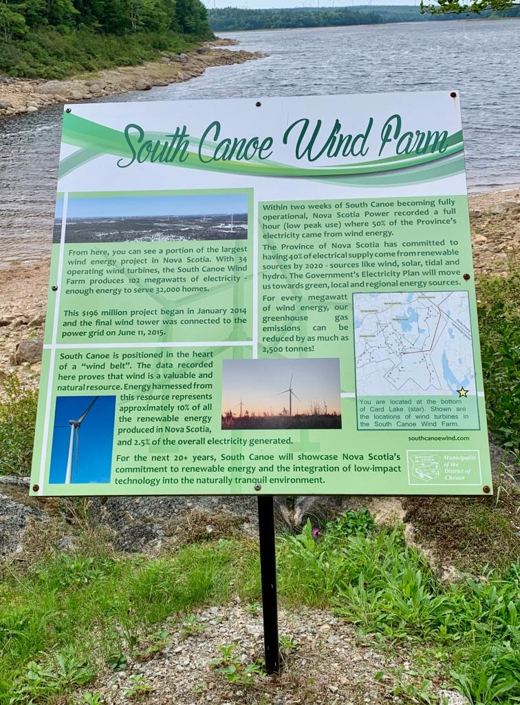 August 27th, 2021 - Card Lake - South Canoe Wind Farm