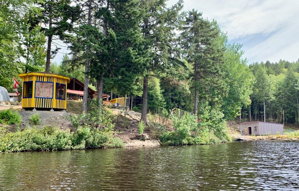 September 1st, 2021 - Mockingee Lake, Vaughan, Nova Scotia - Hippy youth hostel?