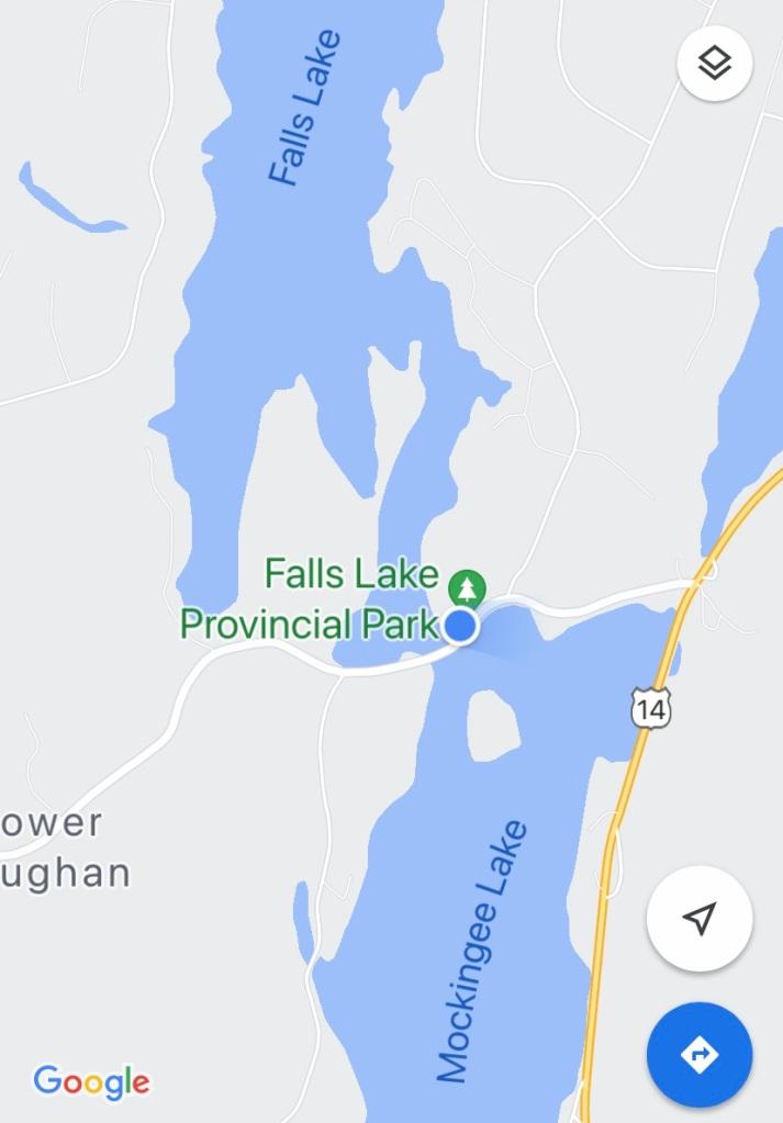September 1st, 2021 - Mockingee Lake, Vaughan, Nova Scotia - Public Boat Launch at Falls Lake