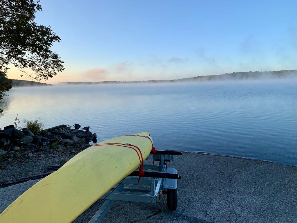 October 9th - Lake William, Waverley, Nova Scotia - Early Morning Autumn Paddle