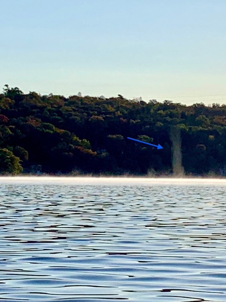 October 9th - Lake William, Waverley, Nova Scotia - Early Morning Autumn Paddle - Atmospheric Anomaly
