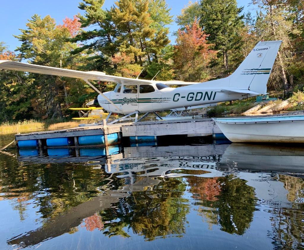 October 9th - Lake William, Waverley, Nova Scotia - Early Morning Autumn Paddle - Don's Floatplane